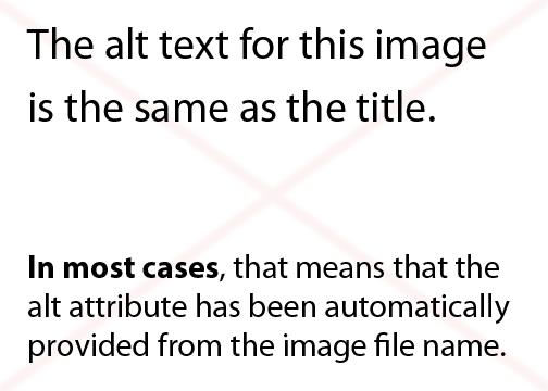 Il testo alt di questa immagine è lo stesso del titolo. In molto casi, questo significa che l'attributo alt è stato fornito automaticamente dal nome del file immagine.
