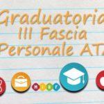 Aggiornamento terza fascia delle graduatorie di circolo e di istituto ATA –2017-19