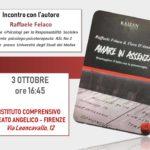 Incontro Con L'Autore, 03.10.19: Raffaele Felaco