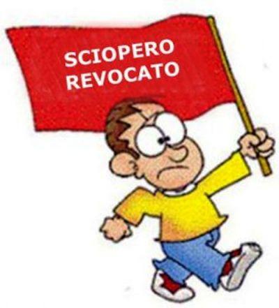 Revoca Sciopero 08.03.21